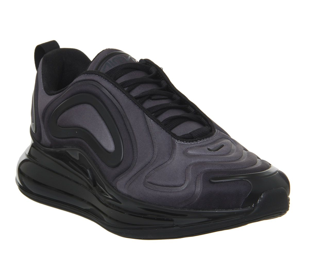 outlet store e2484 447cd Nike Air Max 720 Trainers Black Black Anthracite F - Hers trainers