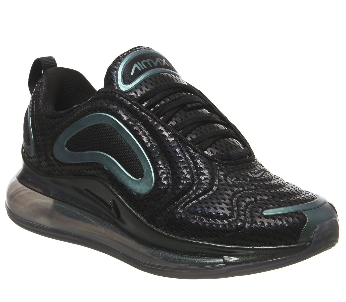 74d08b7891 Nike Air Max 720 Trainers Black Laser Fuschia Anthracite F - Hers ...
