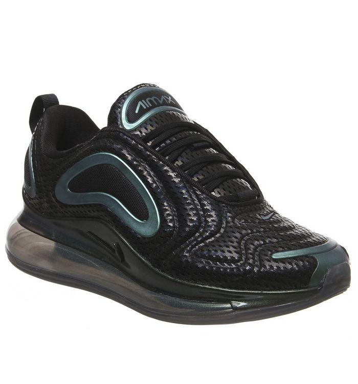 sale retailer 937ca a08b5 Air Max 720 Trainers  Nike, Air Max 720 Trainers, Black Laser Fuschia  Anthracite F ...