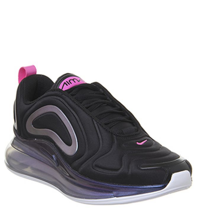 100% authentic a3e22 d1fd9 Quickbuy. Launching 17-05-2019. Nike Air Max 720 Trainers Black Laser  Fuchsia Orange. £165.00