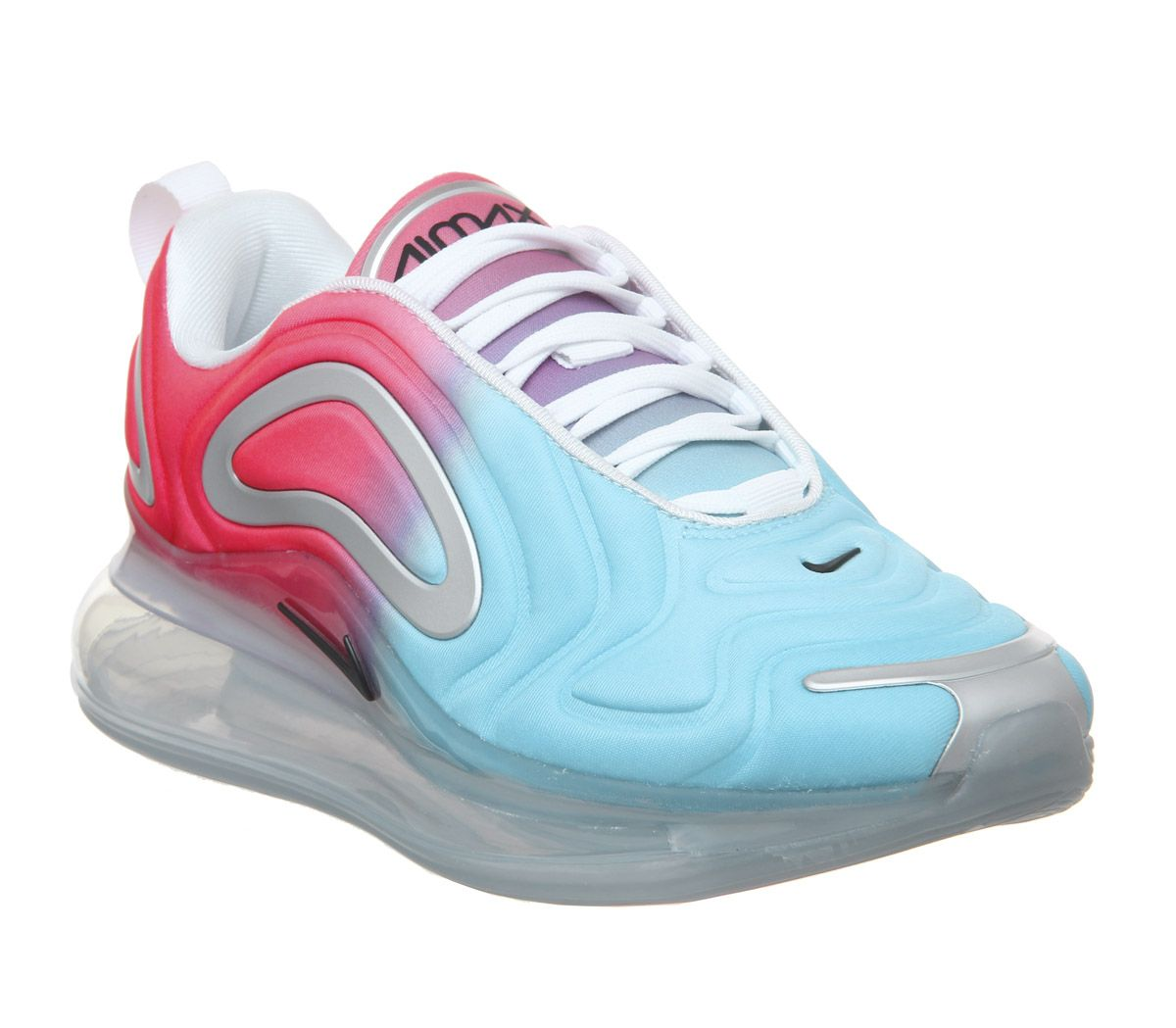 the best attitude 651c8 c9f2d Nike Air Max 720 Trainers Lava Glow Black Blue Fury F - Hers trainers