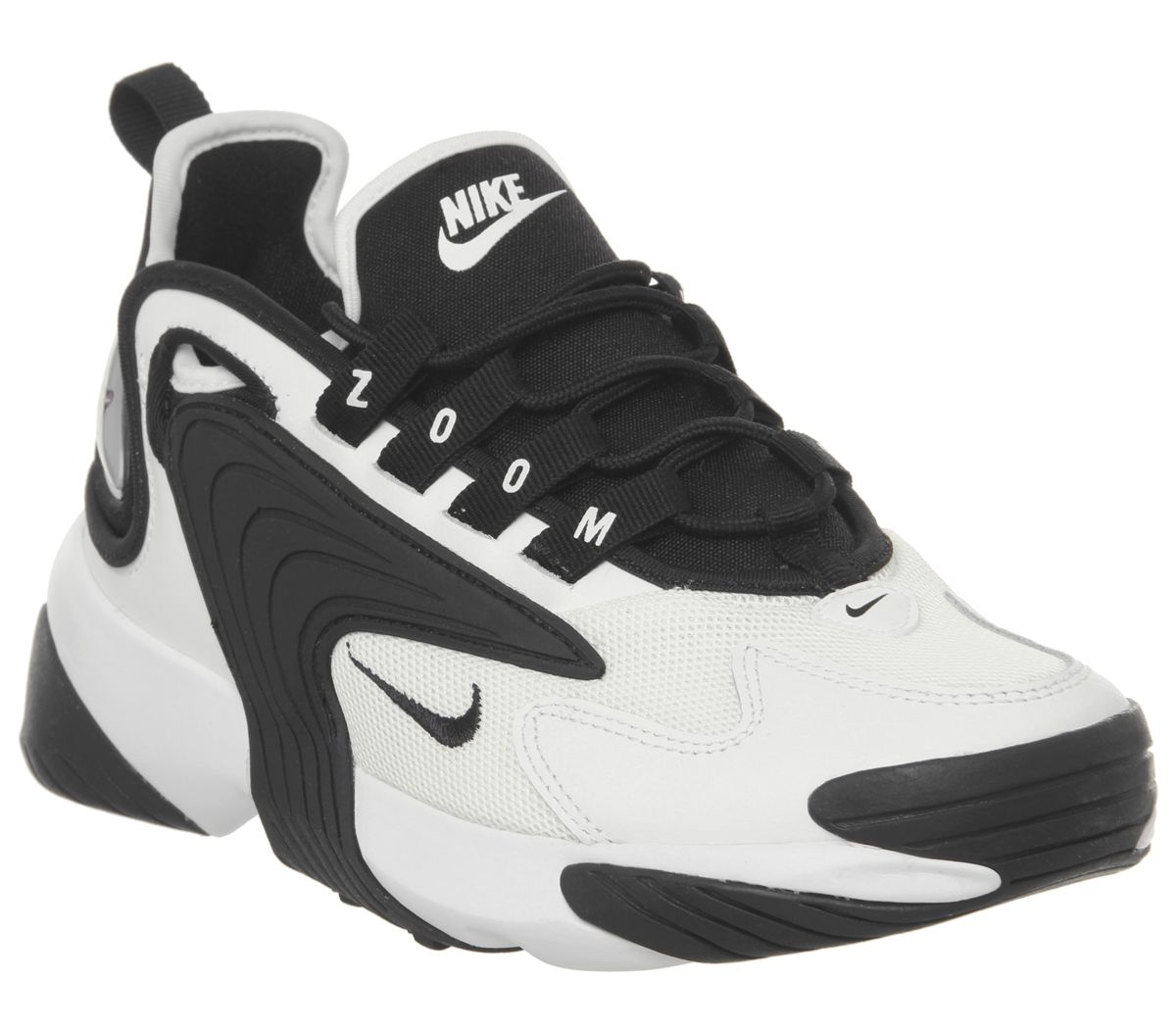 buy popular dc3d8 fa1b3 Nike Zoom 2K Trainers White Black F - Hers trainers