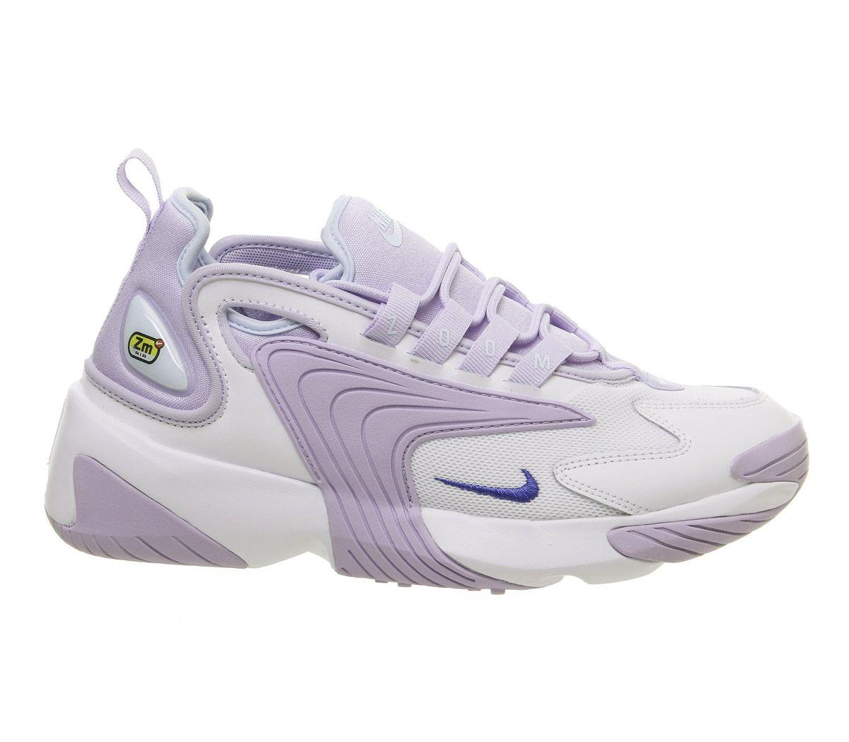 3f88defa66d7 Nike Zoom 2k Trainers White Sapphire Oxygen Purple Teal F - Hers ...