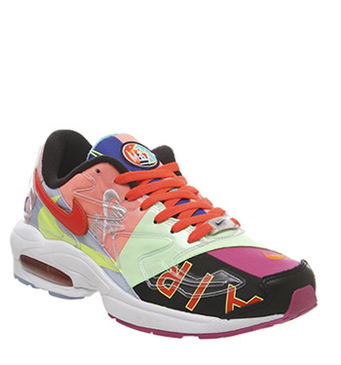 cheap for discount 7957a ce7e0 Launching 05-04-2019. Nike Air Max 2 Light Trainers Atmos Black Bright  Crimson. £135.00