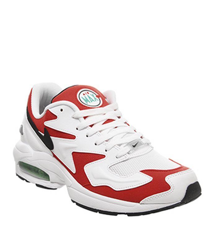 online retailer ca726 15b33 Launching 23-05-2019 · Nike Air Max 2 Light Trainers White Black Habanero  Red Cool Grey