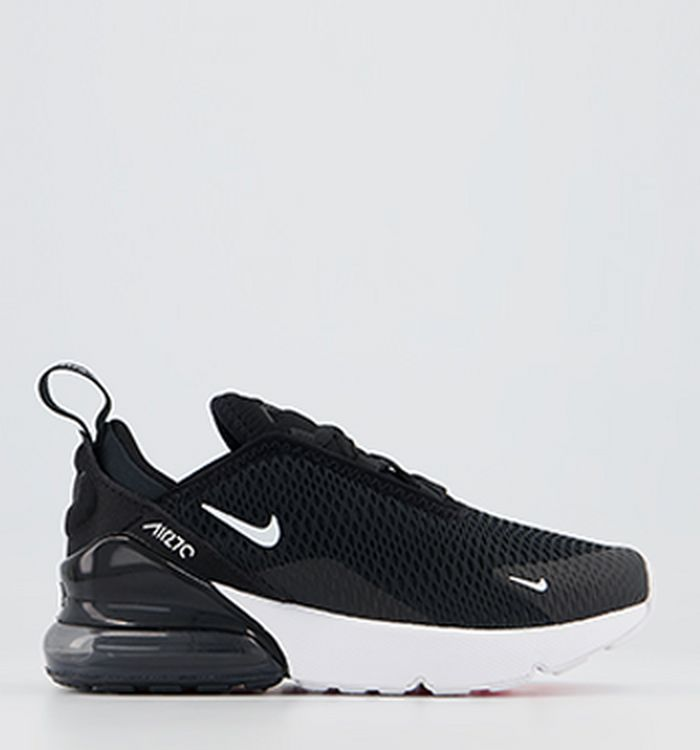 6604a467c29 01-02-2019 · Nike Air Max 270 Ps Trainers Black White Anthracite