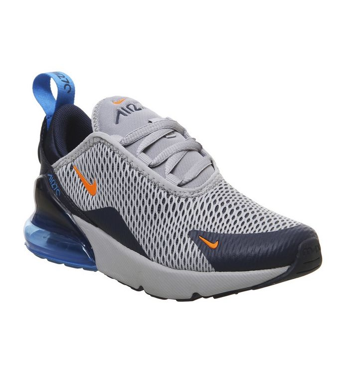 separation shoes a9c66 09a1d ... Nike, Air Max 270 Ps Trainers, Wolf Grey Total Orange Midnight Navy ...