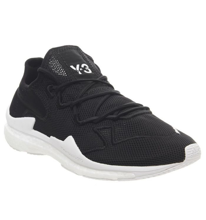 881164600edd5 adidas Y3 Y3 AdiZero Runner Black White Boost - His trainers