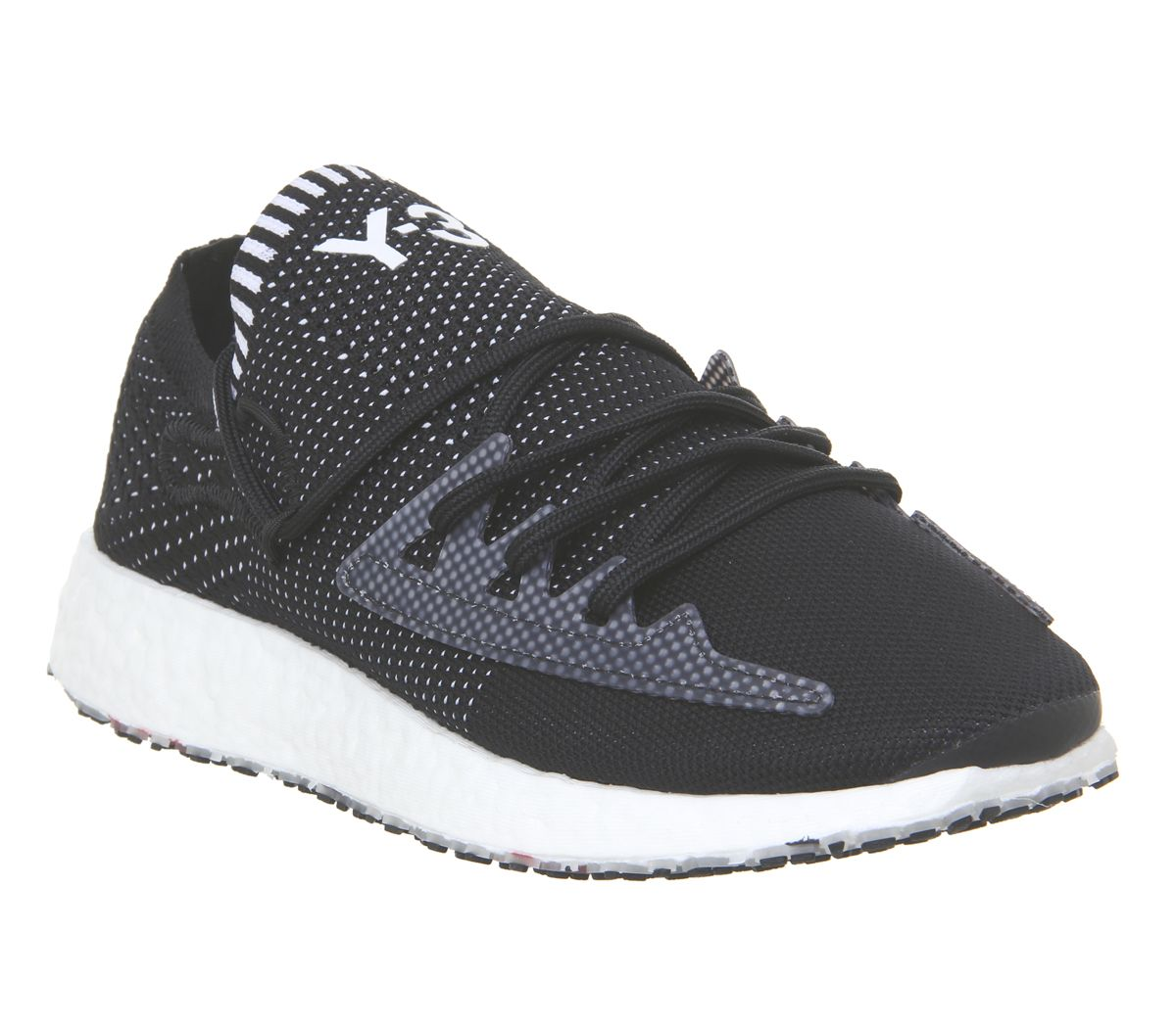 8daf1a39816e2 adidas Y3 Y3 Raito Racer Trainers Black White Boost - His trainers