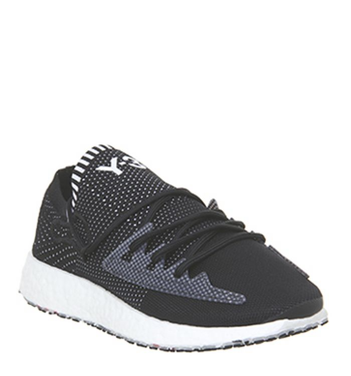 a61e8653802 Y-3 Kawa Trainers Black White Leather. £300.00. Quickbuy. 10-01-2019