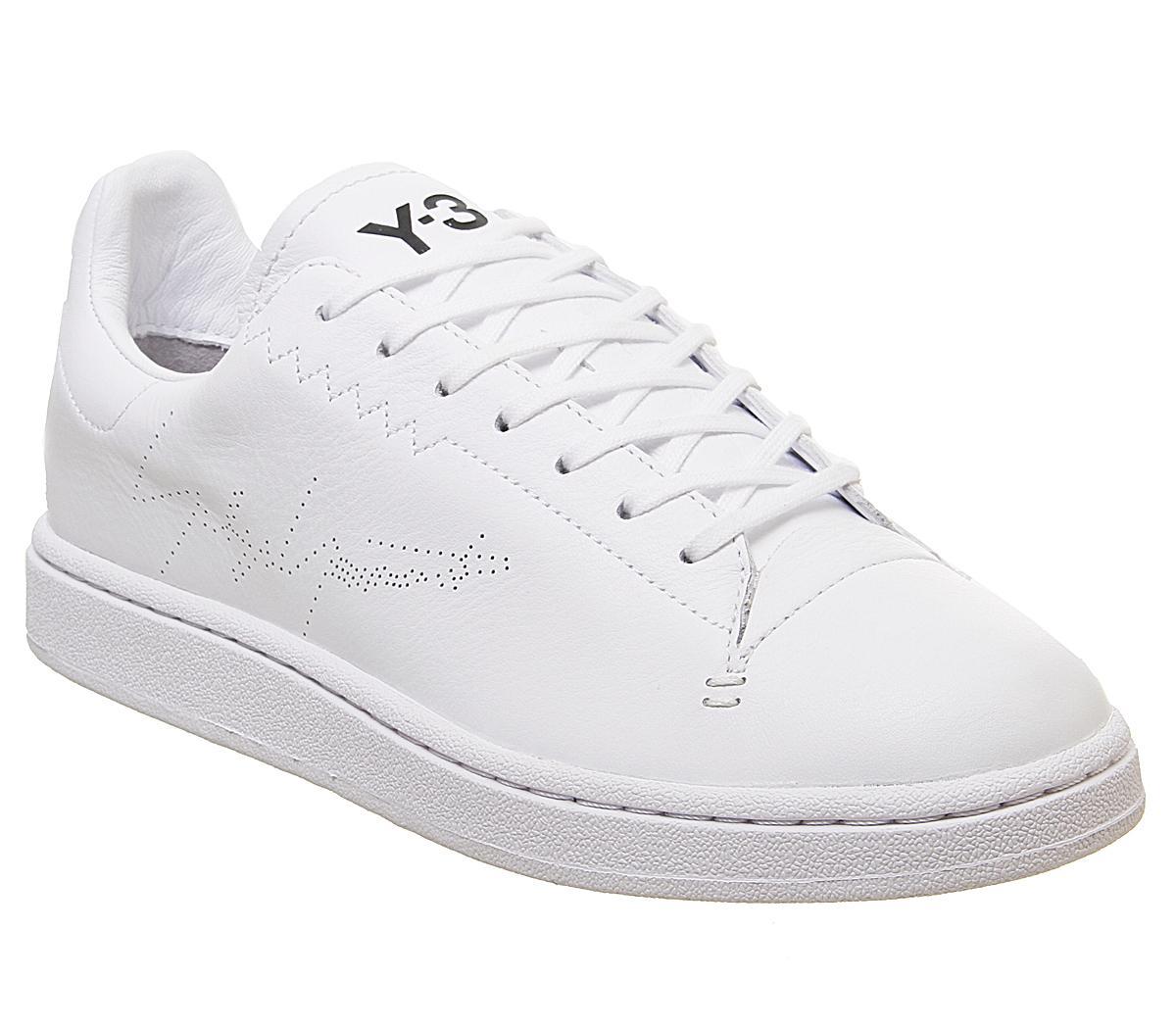 adidas Y3 Y3 Yohji Court Trainers White
