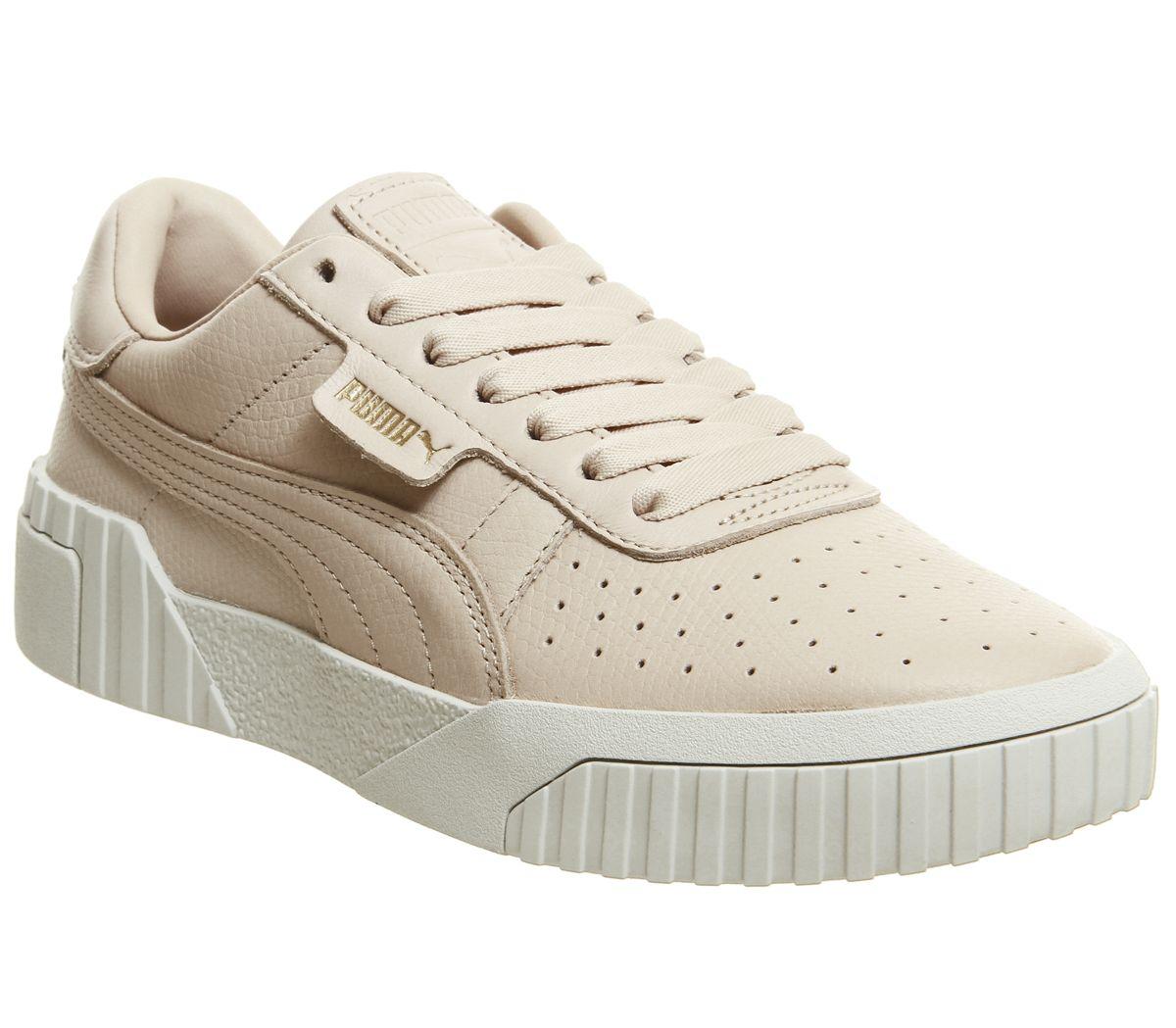 82e1dc0046c8f Puma Cali Trainers Cream Tan - Hers trainers