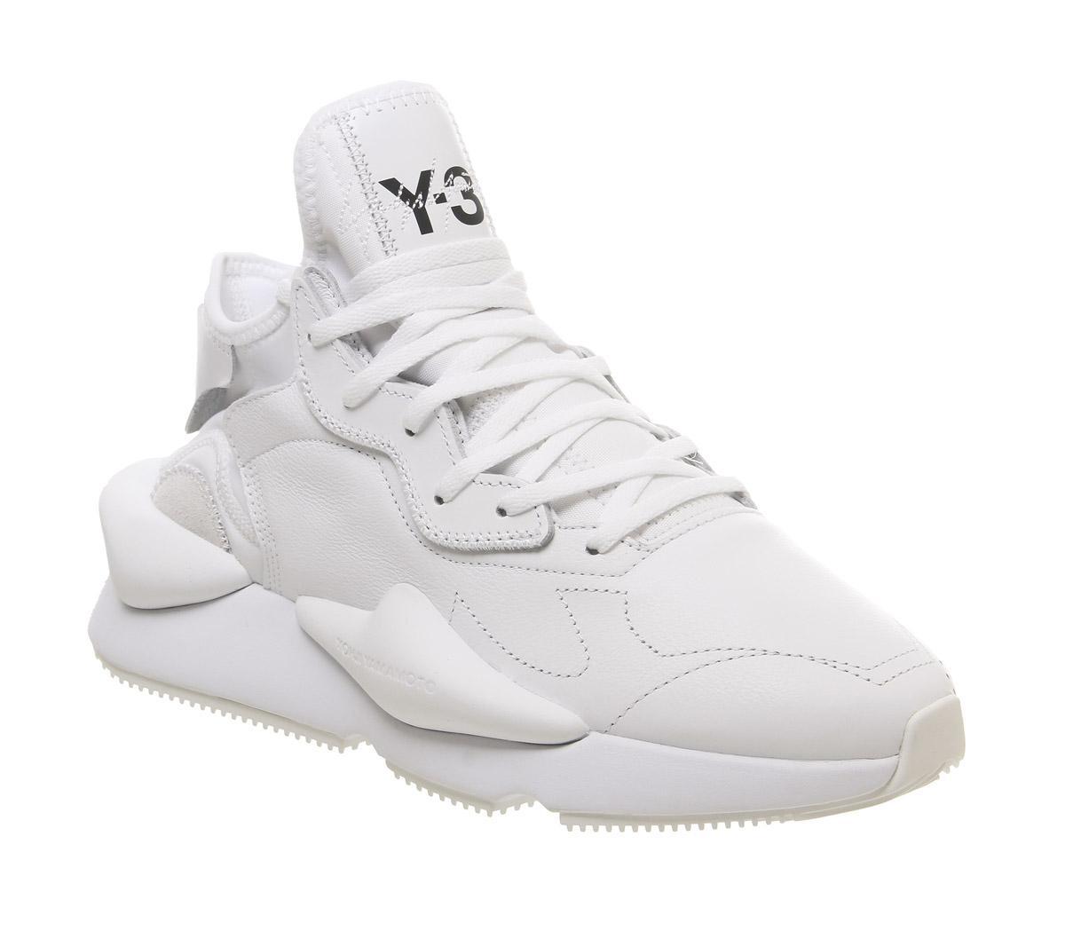 adidas Y3 Y3 Kaiwa Trainers White