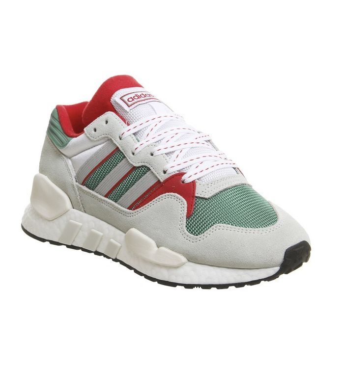 super popular b00b1 7ab2b adidas Eqt X Zx Trainers Future Hydro Ash Silver - His trainers