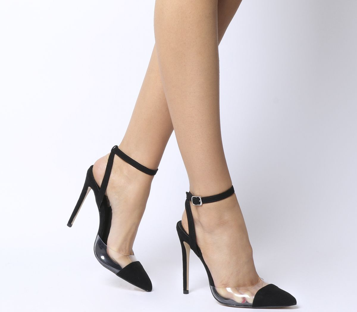 1f66a379e67 Hint Pointed Two Part Court Heels