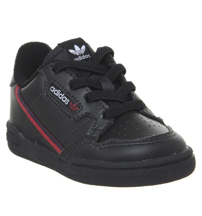 Image of adidas 80s Continental Infant CORE BLACK SCARLET COLLEGIATE NAVY