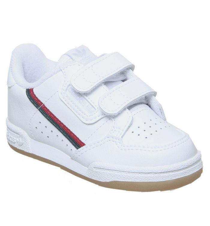 Image of adidas 80s Continental Infant WHITE SCARLET COLLEGIATE NAVY HL