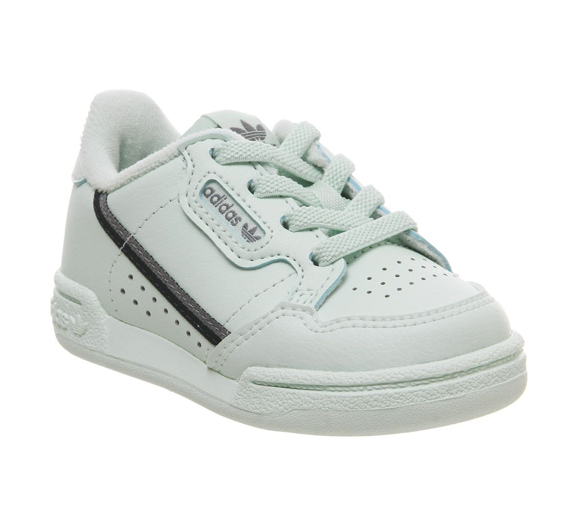 9e12887bb4b2 Adidas 80s Continental Infant Trainers Ice Mint Vista Grey - Unisex