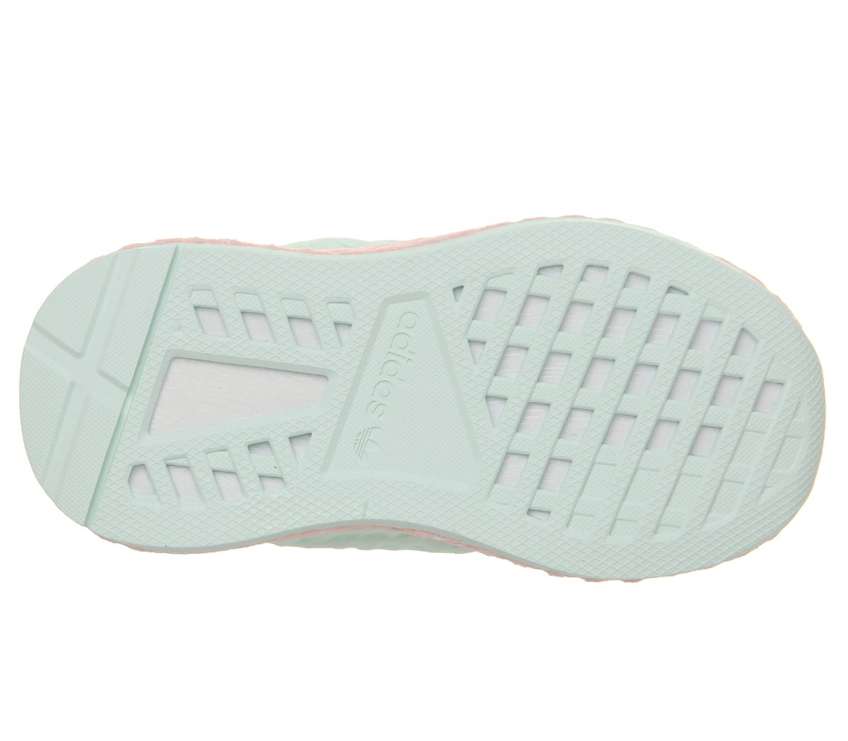 6c1af113e adidas Deerupt Infant Trainers Ice Mint Clear Orange - Kids Trainers