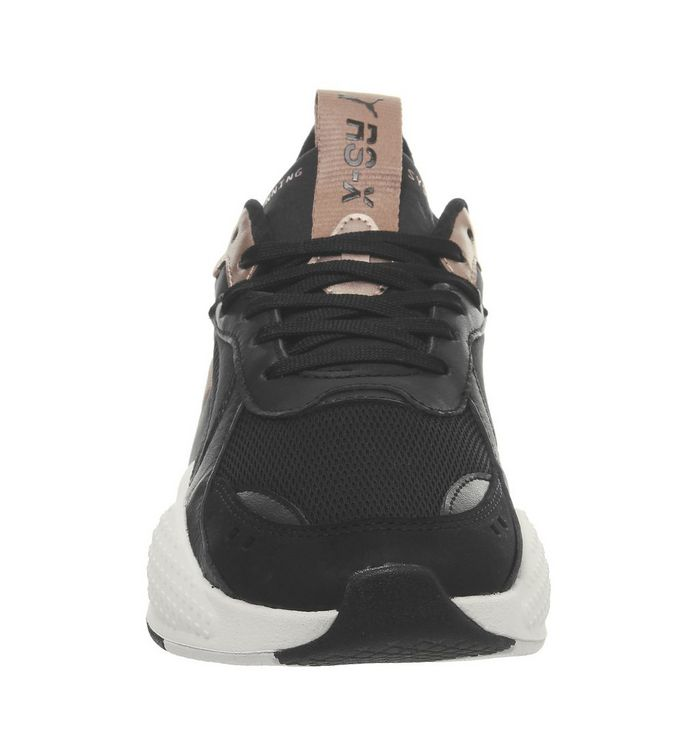 4705d2ea2c5a Puma Rs-x Trophy Trainers Puma Black Rose Gold - Hers trainers