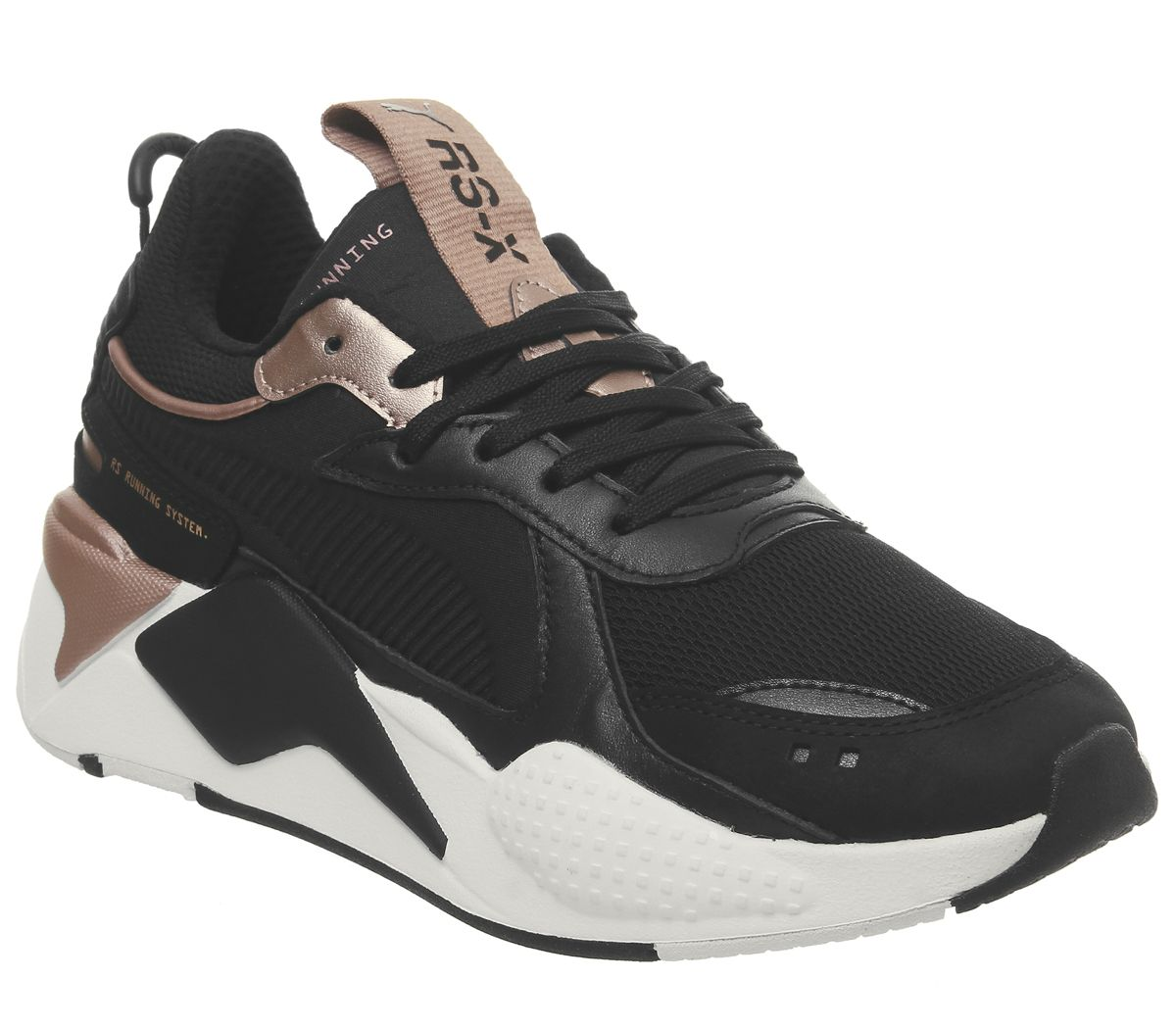 the best attitude 64bf0 cd05a Puma Rs-x Trophy Trainers Puma Black Rose Gold - Hers trainers