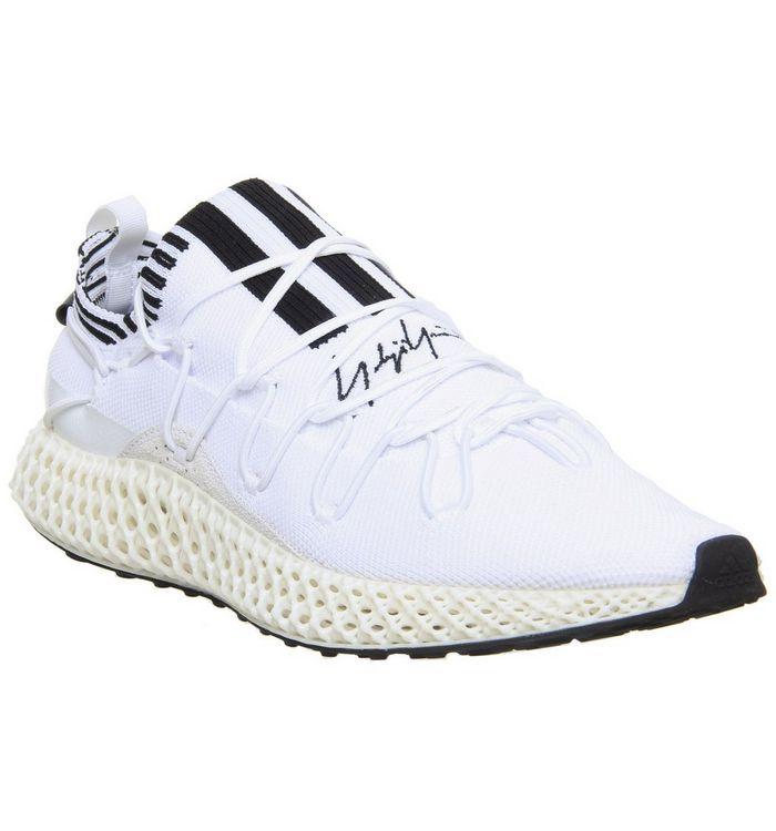 online store 769fe 62db6 ... adidas Y3, Y3 Runner 4D 2 , White Core Black White ...