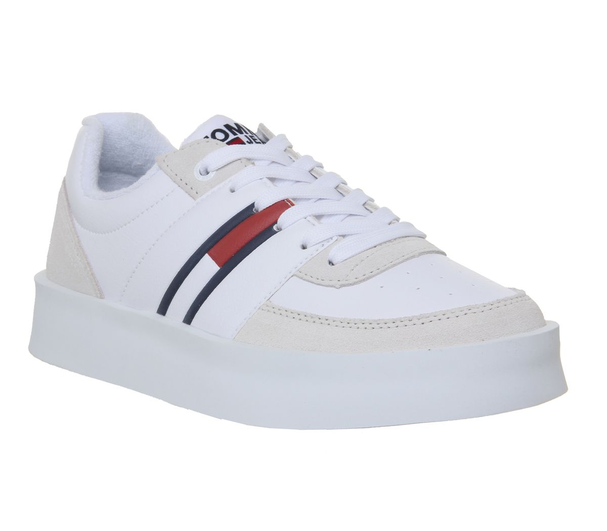 3575a2666873 Tommy Hilfiger Light Sneakers White - Hers trainers