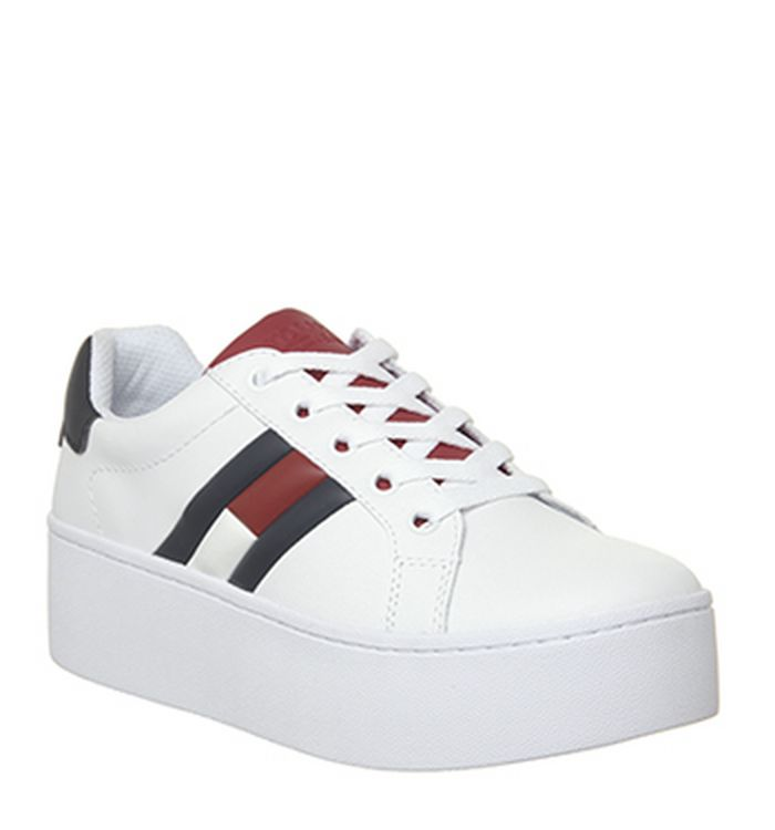 ad9d960aa0f92d Tommy Hilfiger Essential Sneakers White. £84.99. Quickbuy. 04-12-2018