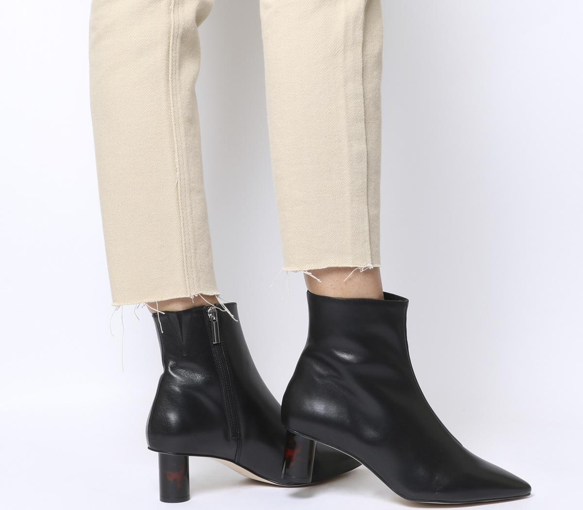 Afflict Cylindrical Heel Boots