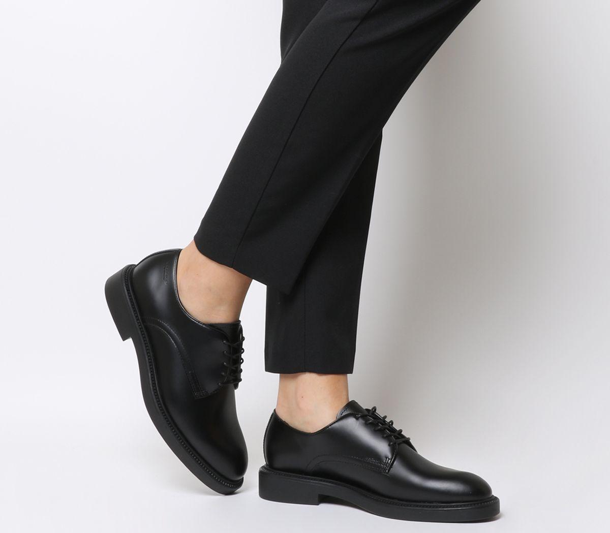 4294d9e5958bd4 Vagabond Alex W Flats Black Leather - Flats