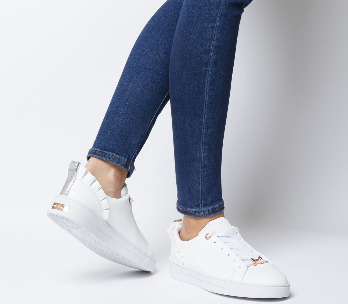7092a805 Ted Baker Astrina Sneakers White Leather - Hers trainers