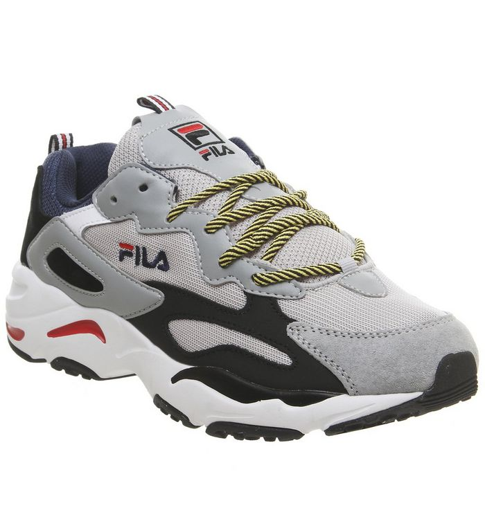 Fila Ray Tracer Trainers Vapor Blue Highrise Black Sale