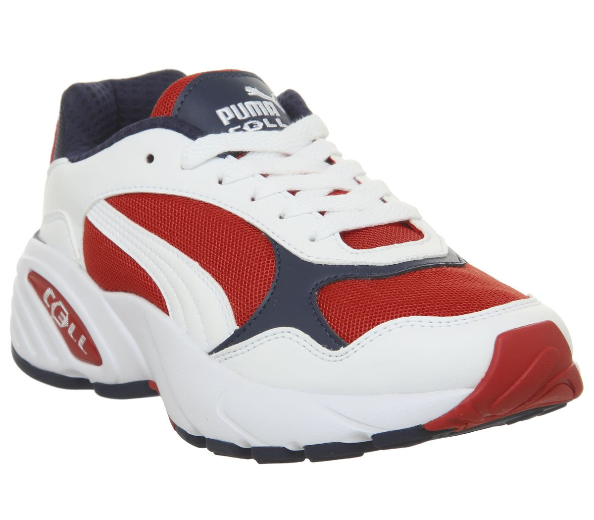 23818bd9df Puma Cell Viper Trainers Puma White High Risk Red - Hers trainers