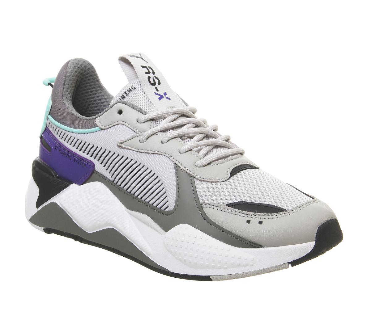 Puma Rs-x Tracks Grey Grey Purple - His