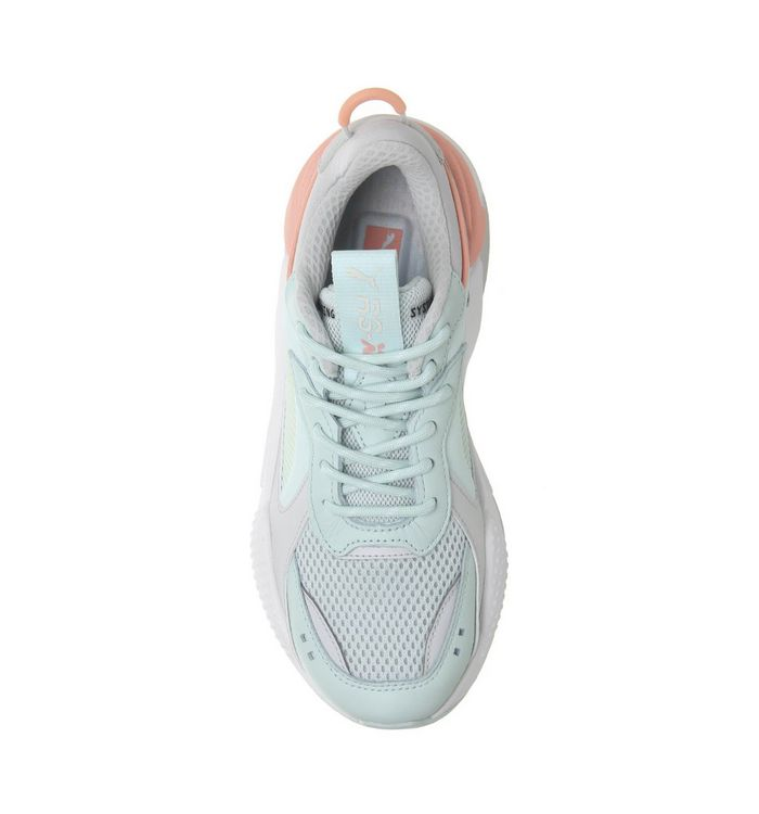 6dabe4f79b8 Puma Rs-x Tracks Trainers Mint Peach White - Hers trainers