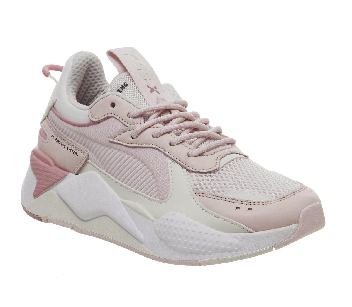 Puma Rs-x Tracks Trainers Pink Pink Peach White - Sneaker damen