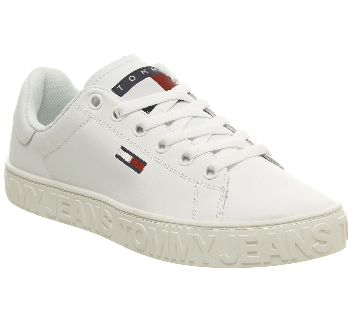 c6f21d965cb5 Tommy Hilfiger Jaz Trainers White - Hers trainers