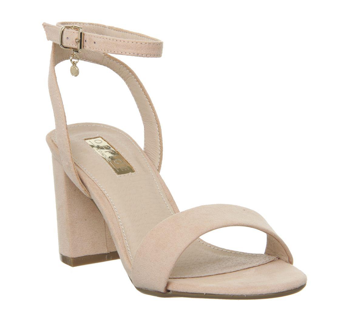8a93093f4 Office Marigold Strappy Heels Nude - Mid Heels