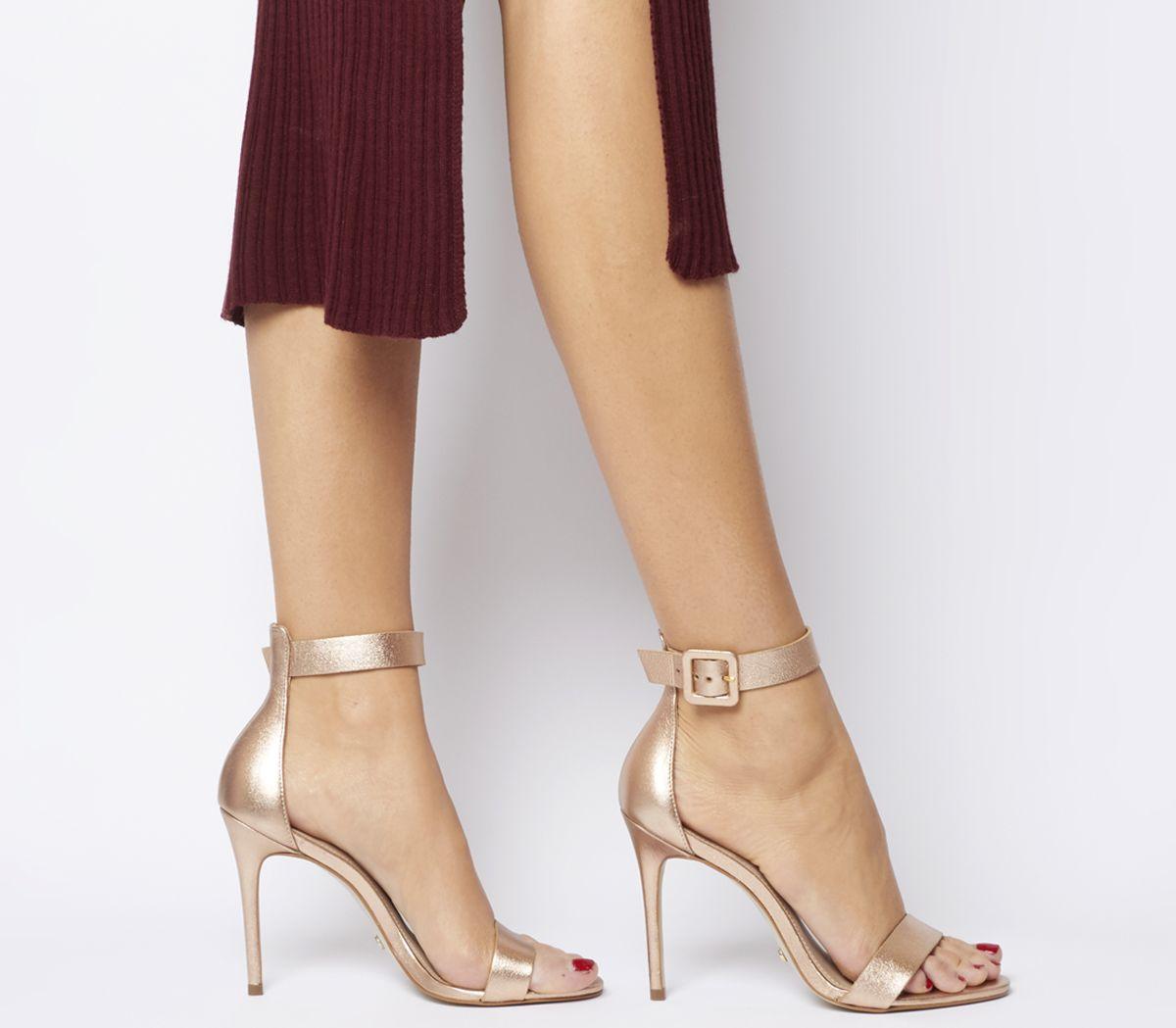 5026734392c Heart Two Part Sandal Heels