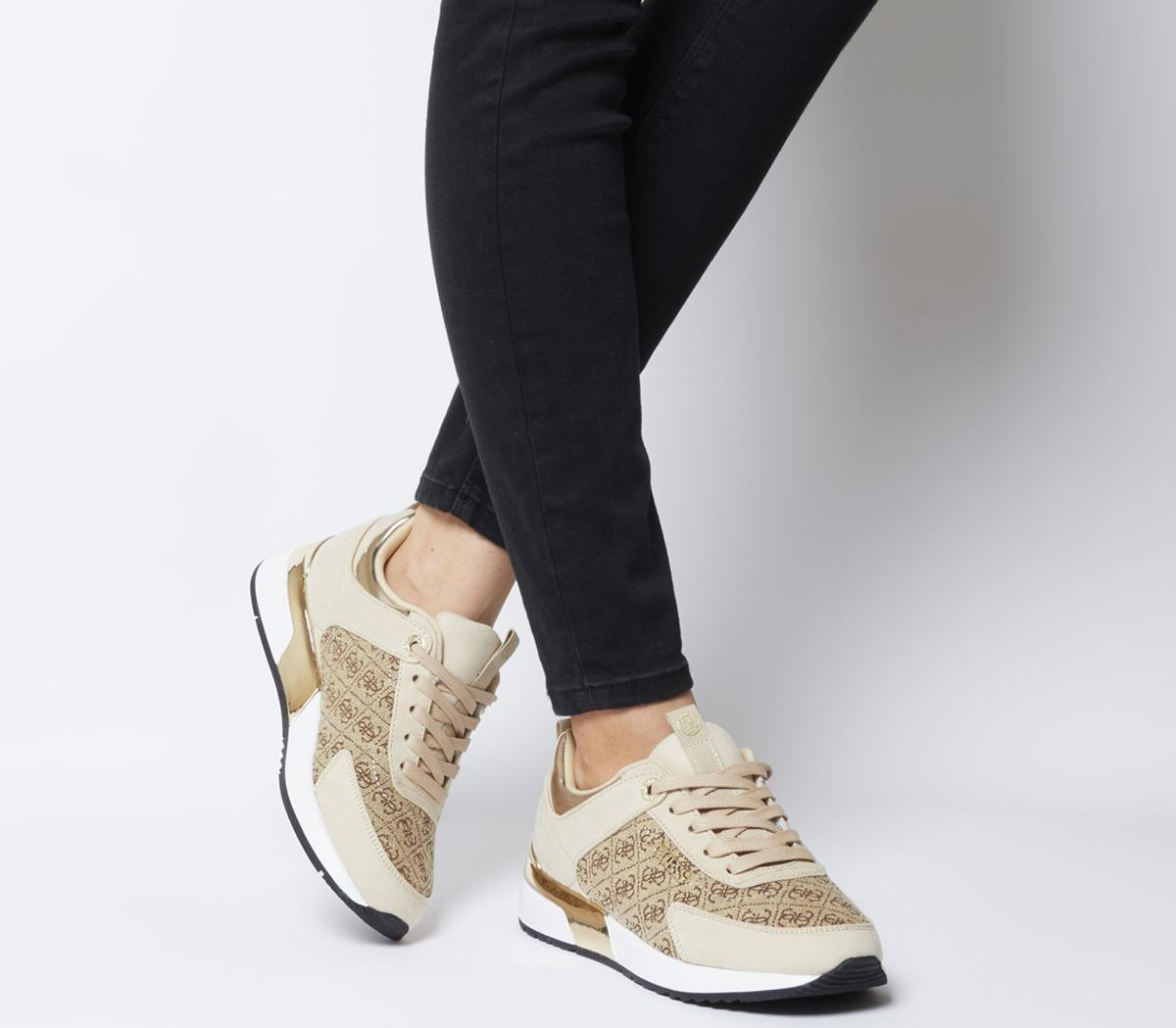 Marilyn Logo Sneakers | GUESS.ca