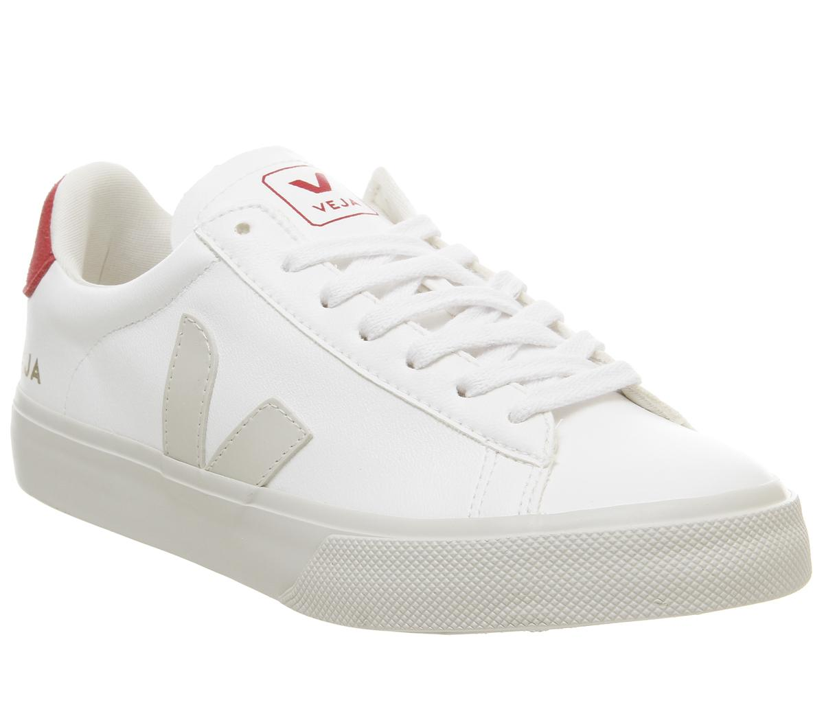 Veja Campo Trainers White Red F - Hers