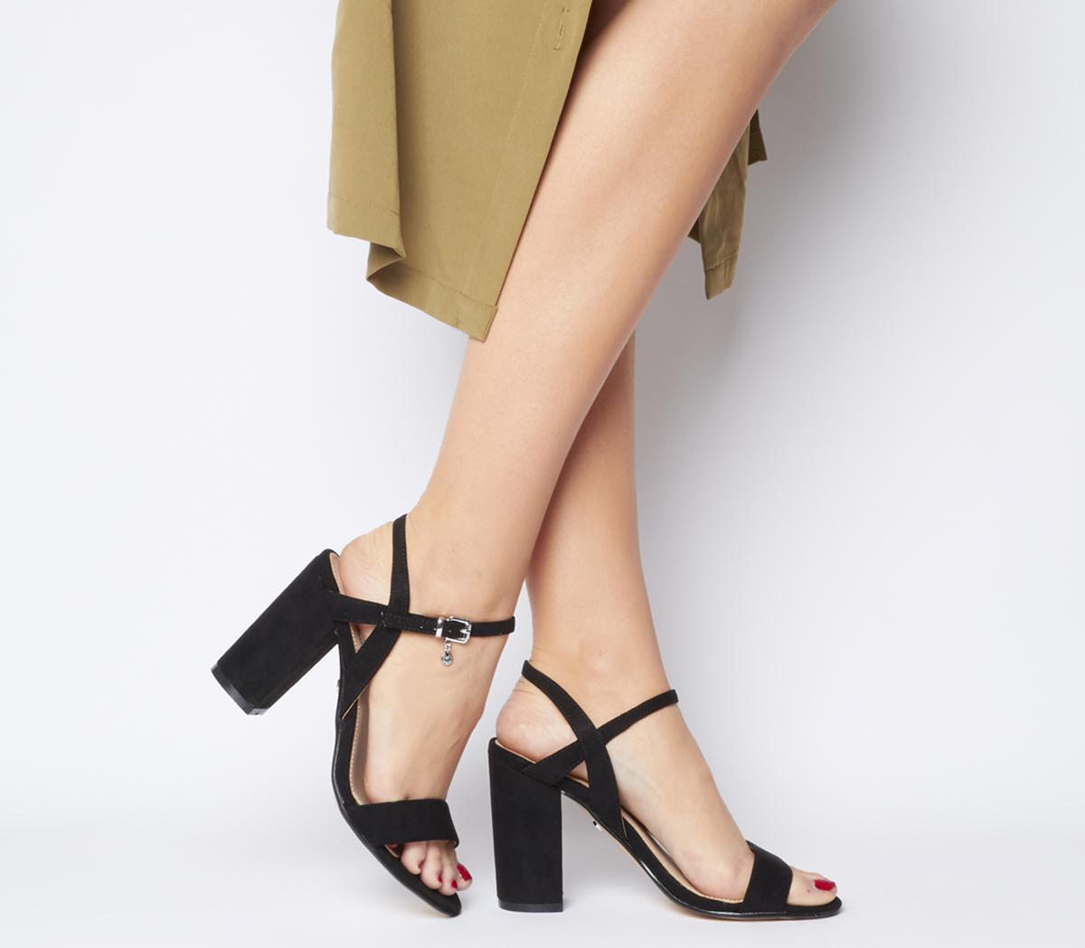 Hollyhock Block Heels