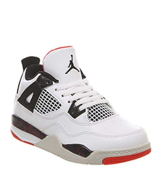reputable site feaf9 14587 Launching 02-03-2019 · Jordan Air Jordan 4 Ps Trainers White Black Bright  Crimson. £59.99. Quickbuy