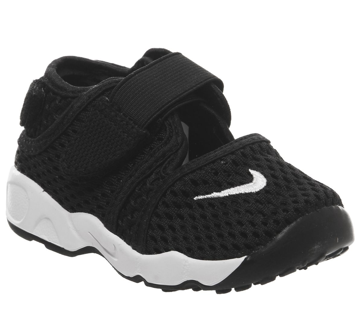 03deb4c79 Nike Rift Infant Trainers Black White - Unisex