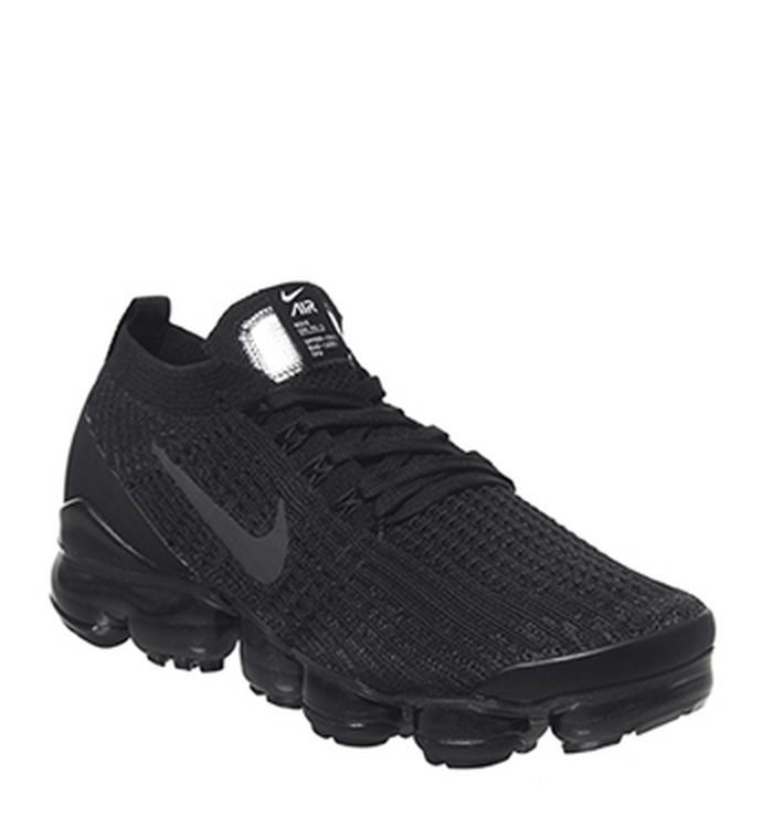 d3658769cc Launching 04-04-2019. Nike Vapormax Air Vapormax Fk 3 Trainers Black  Anthracite White Metallic Silver