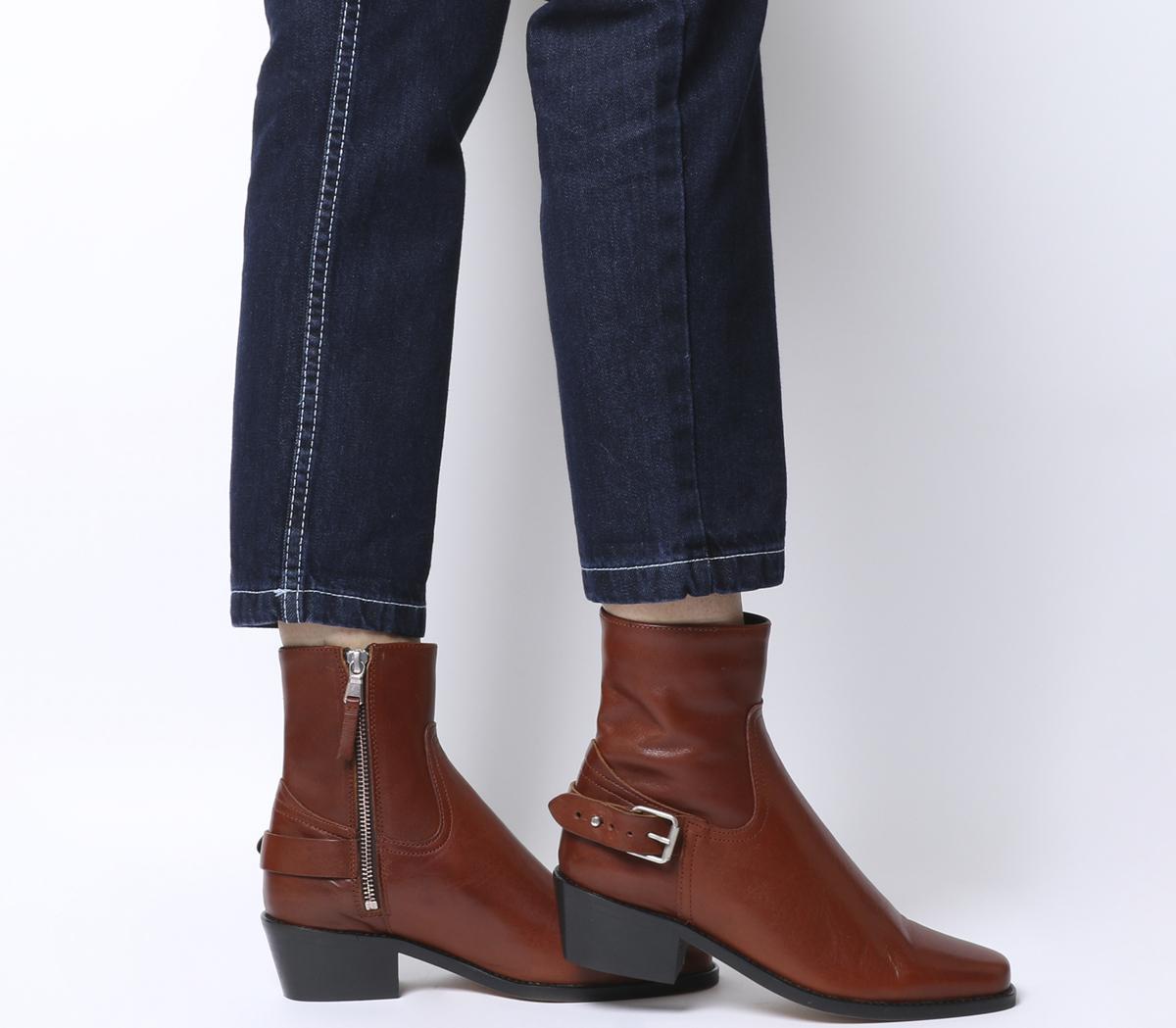 Adventure Western Buckle Boots