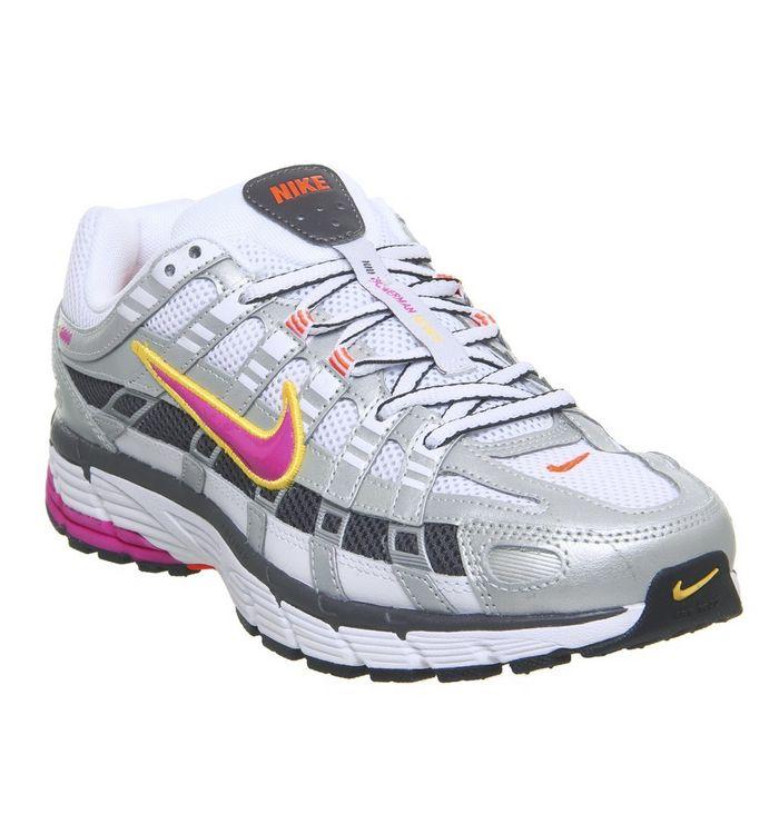 new style 136b5 1d519 P-6000 Trainers  Nike, P-6000 Trainers, White Laser Fuchsia Metallic ...