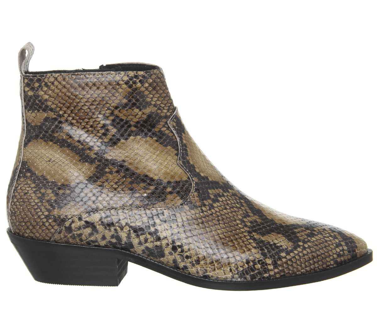 d1010104401 Addition Low Cut Western Boots