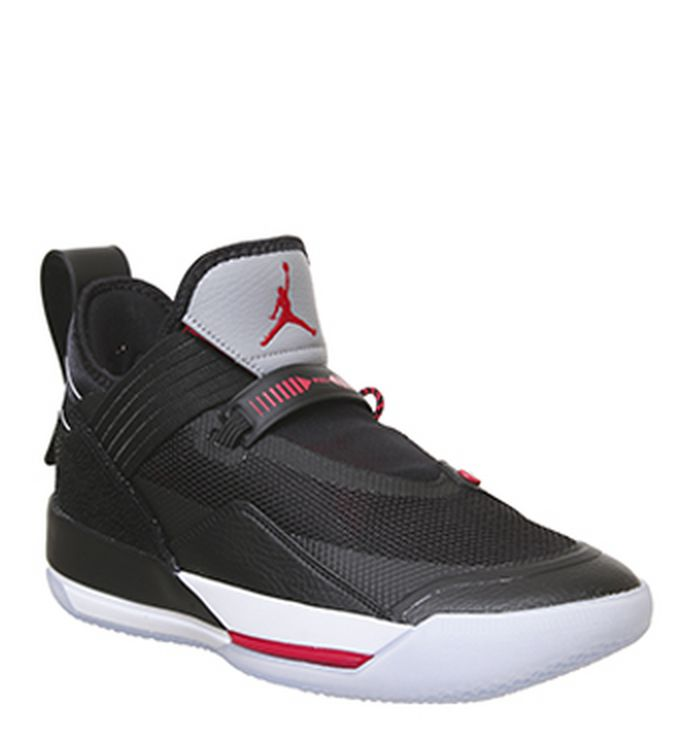 948e9830673078 Jordan 4 Ps Trainers Black Red Grey Summit White. £59.99. Quickbuy.  Launching 03-05-2019