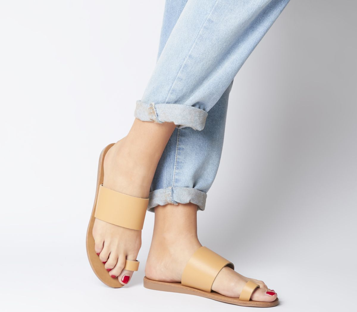 Scuba Two Part Toe Loop Sandals by Office
